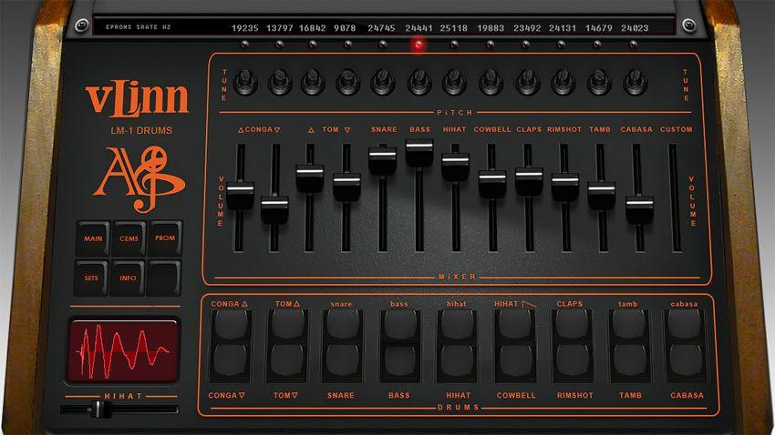 linn lm 1 drum machine emulated in vst plugin musicradar. Black Bedroom Furniture Sets. Home Design Ideas