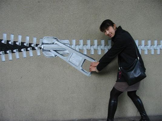 giant zip installations