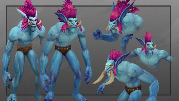World Of Warcraft Warlords Of Draenor S Trolls Will Look