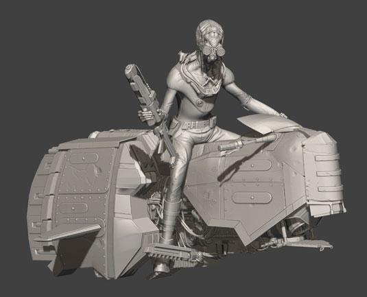 speed sculpting