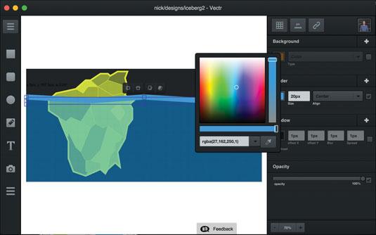 Prototyping tools: Vectr