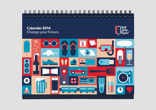 Calendar Cover Design 2014 : Amazing calendar designs for creative bloq