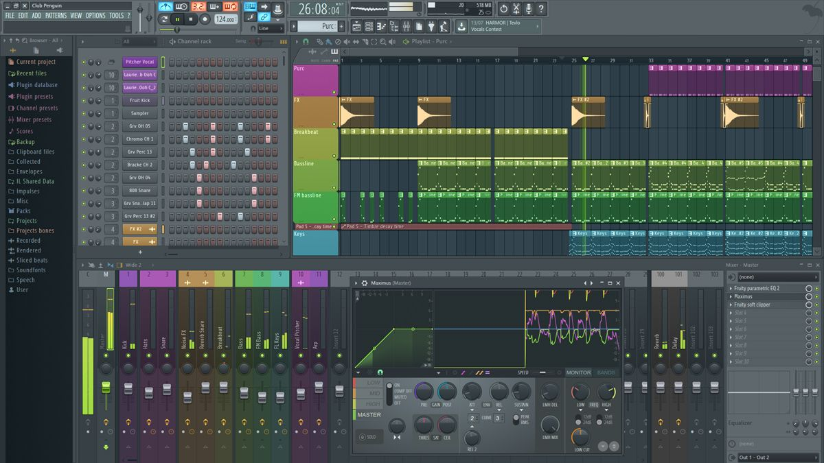 Fl Studio 12 3 Is Here With Realtime Audio Stretching