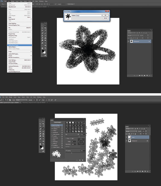 Photoshop Brushes: create your own brush