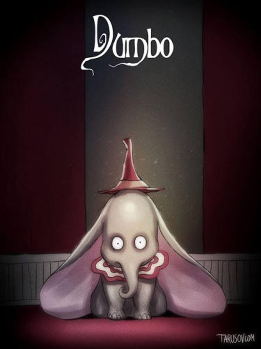 Disney films Tim Burton style: Dumbo