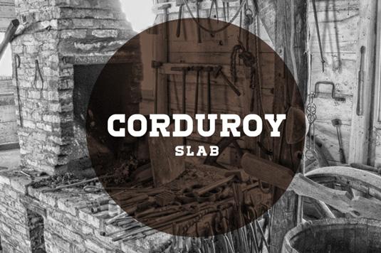 Free fonts: Corduroy