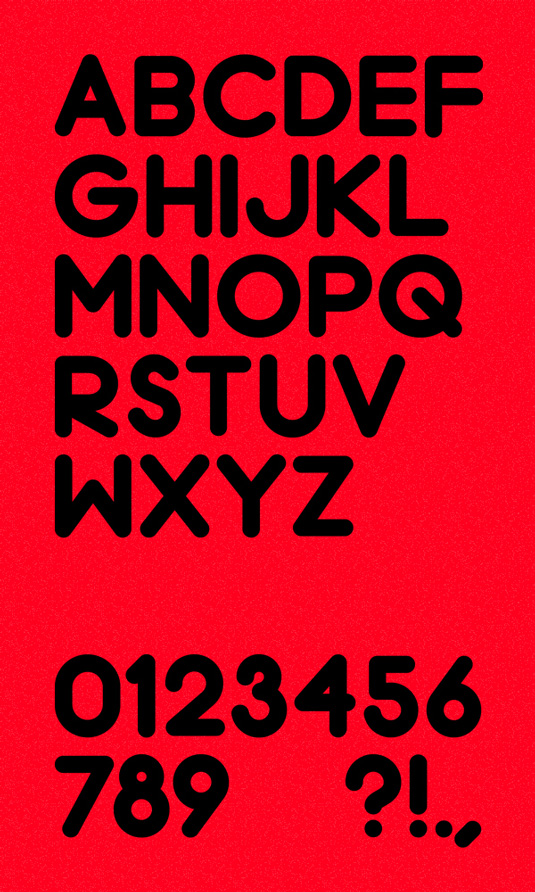 Free font: Chrome Black