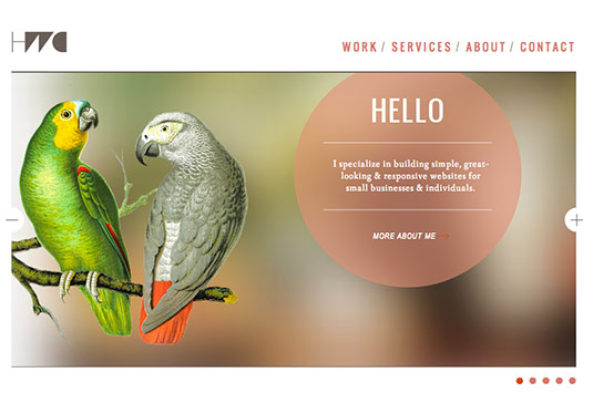 Sliders in web design: Heath Waller