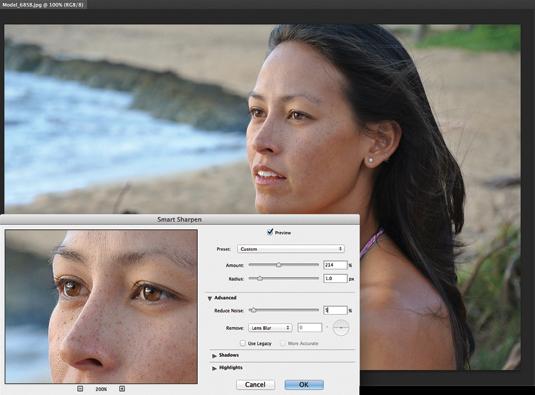 Photoshop CC: Smart Sharpen