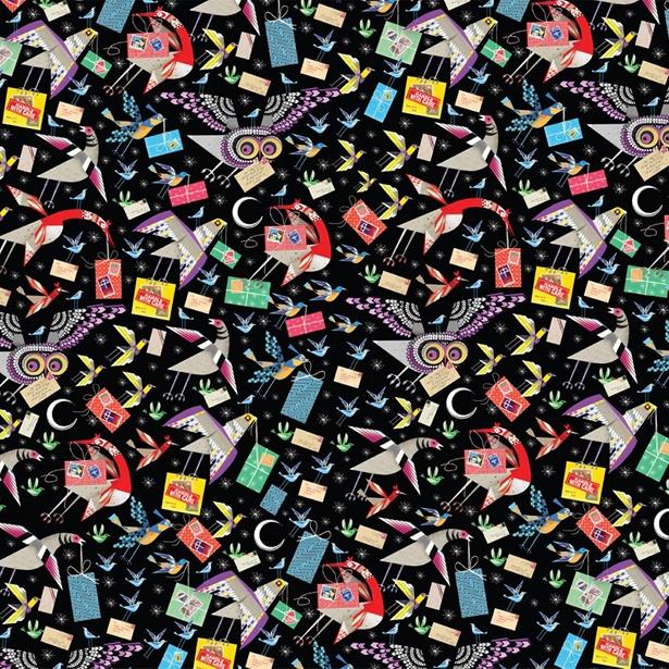 Lesley Barnes - Airmail Bird Wrap