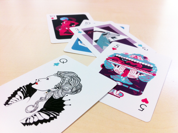 Selection of other designs from Versus playing cards