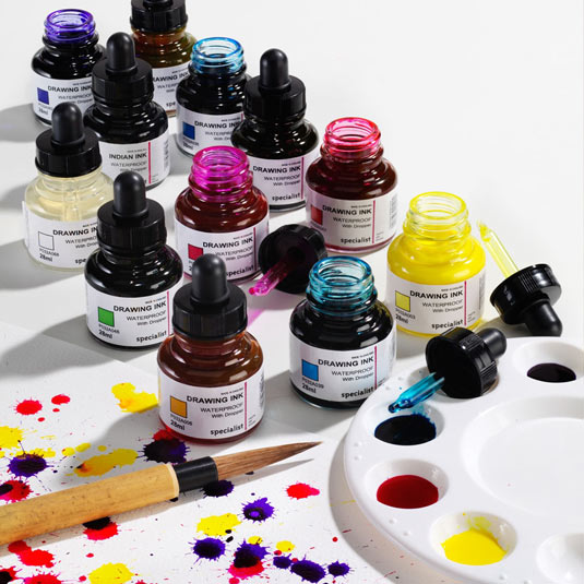 Art tools: Inks