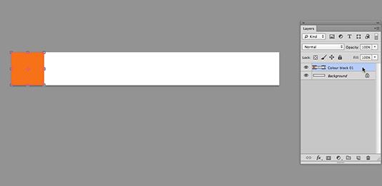 Make a banner - step 2