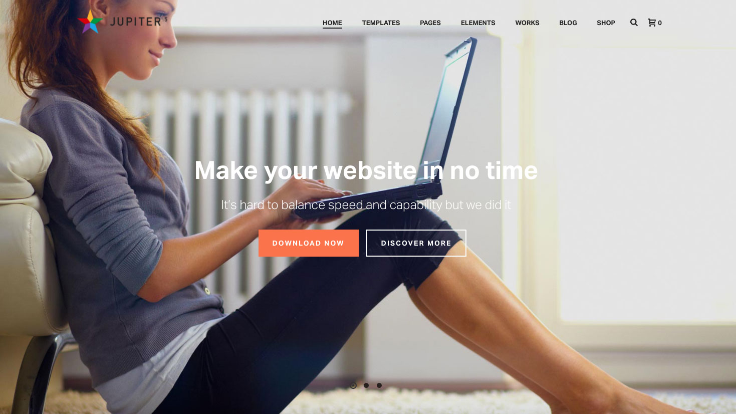 Website templates - Jupiter