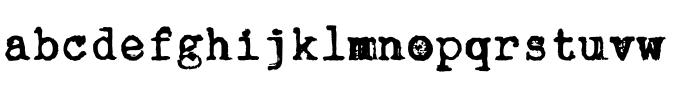 typewriter typefaces: chapter 11