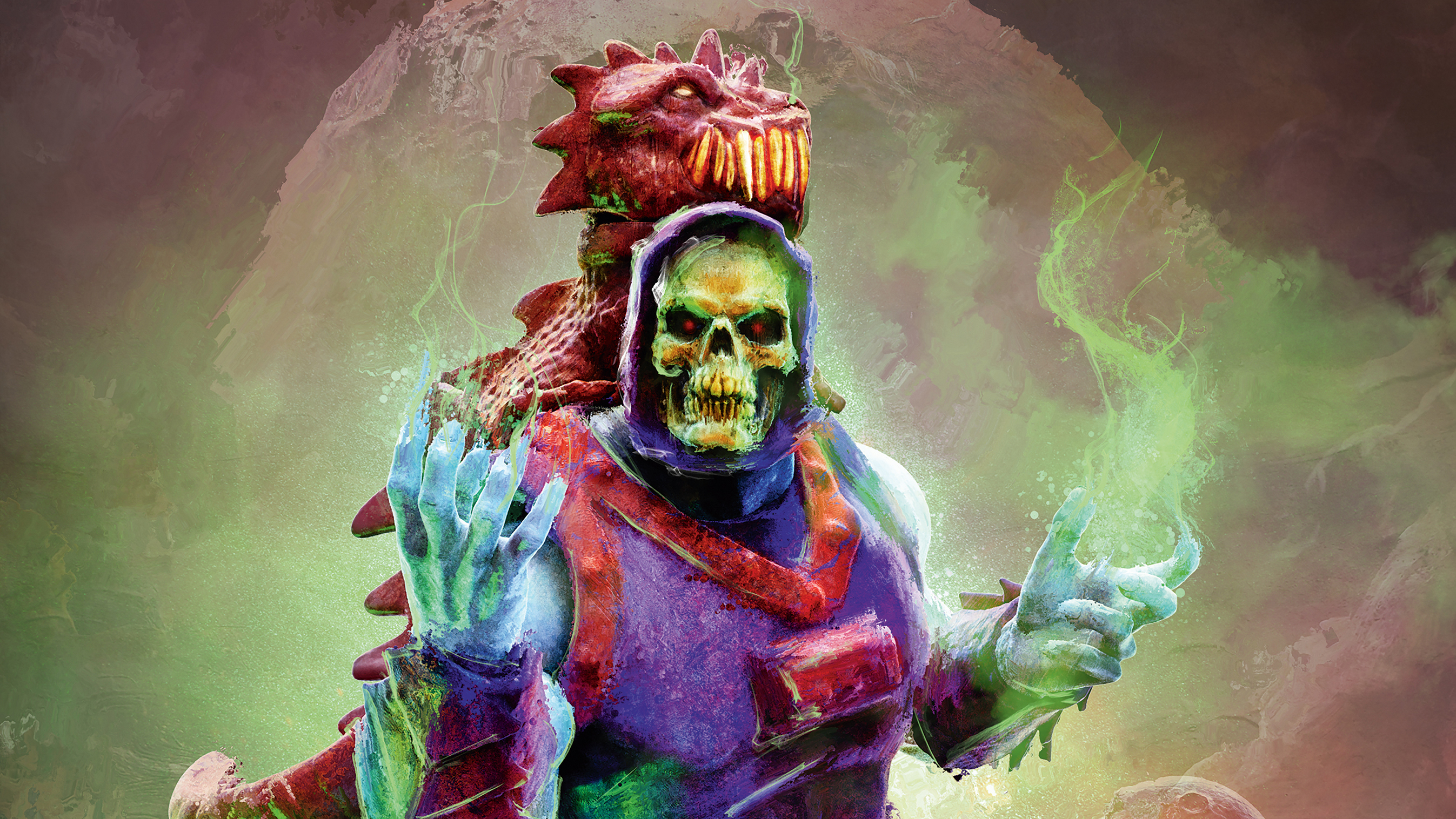 How to create vintage art from He-Man 3D scans