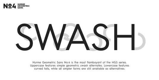 Hurme Geometric Sans No.4 font