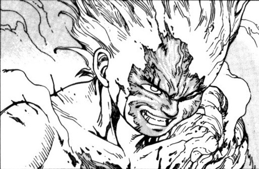 Comic book characters: Tetsuo