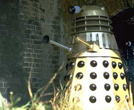 Dalek designs: Gold dalek