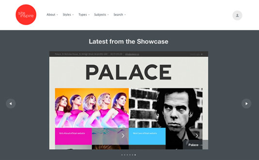 website gallery: Site Inspire
