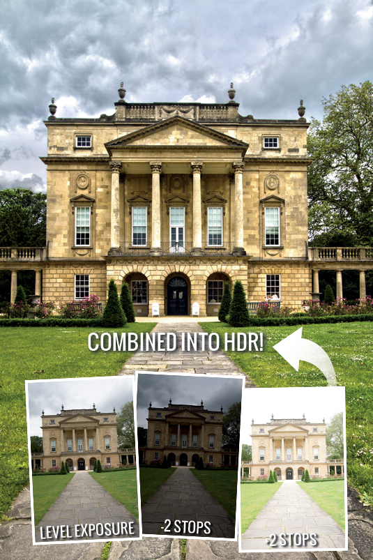 Photo editing: create an outdoor HDR image