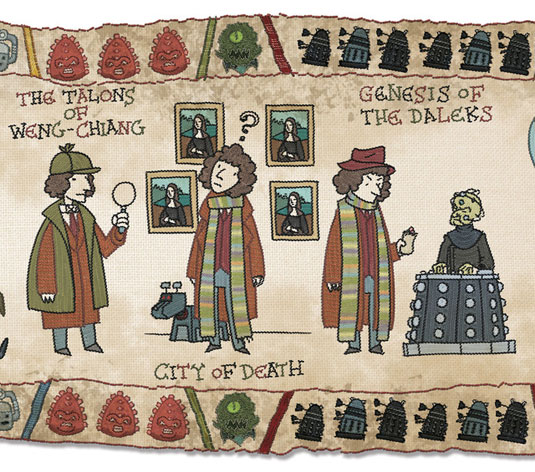 Doctor Who tapestry