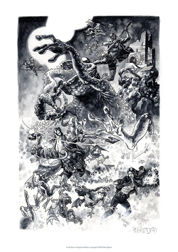hellboy illustrations