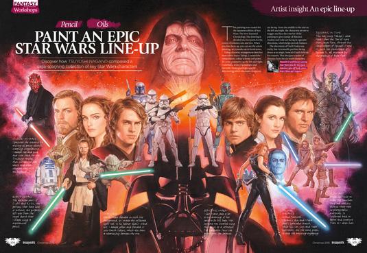 imagine fx issue 129 trad workshop star wars