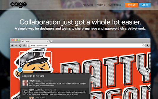 Online collaboration tools: Cage