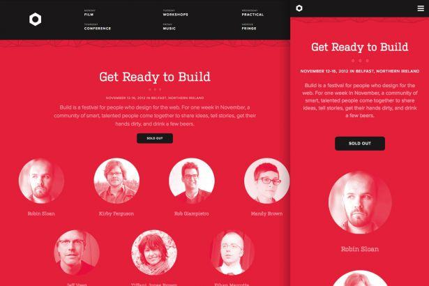 Best responsive websites: Build