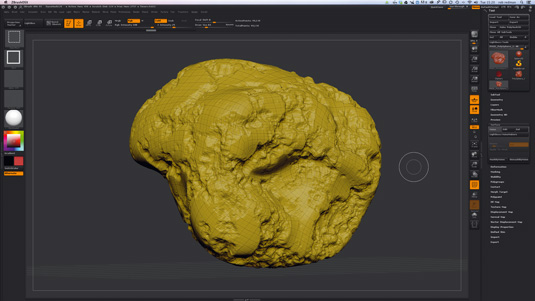 How to create realistic 3D rocks and stones