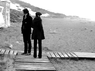 Jack and Meg White ponder their direction in the dazzling Lights