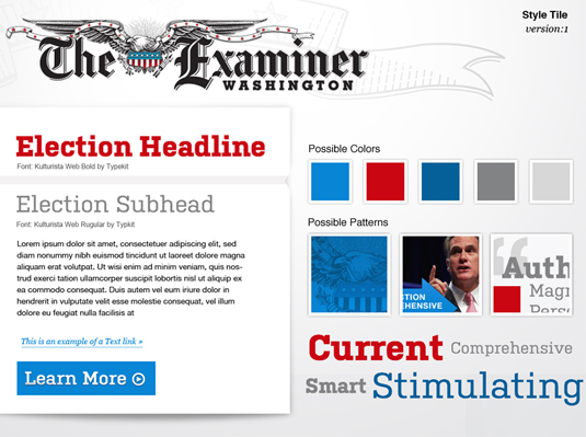 Washinton Examiner style tiles 1
