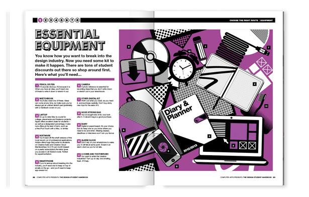 Computer Arts Presents: The Design Student Handbook chapter one