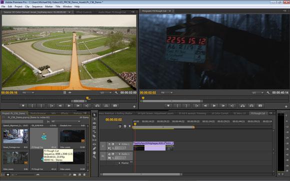 Adobe Premiere Pro CS6: Project-Panel