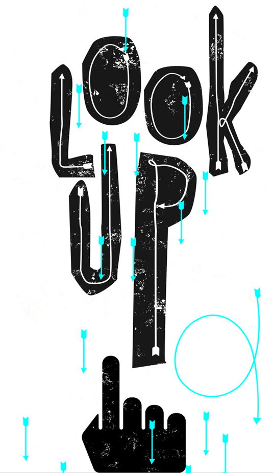 Font of the day: Look Up