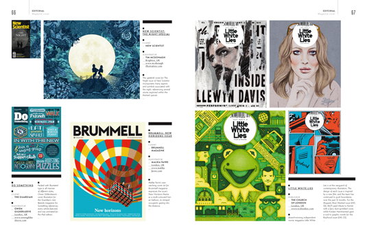 Computer Arts Collection: Illustration Annual, Editorial section