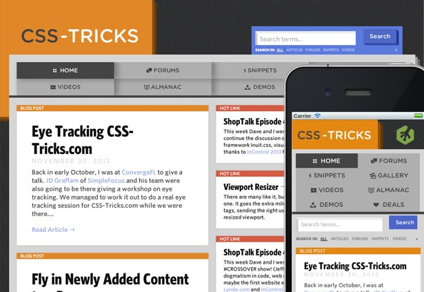 Best responsive websites: CSS-Tricks