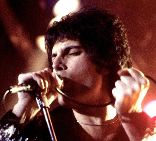 Freddie in concert