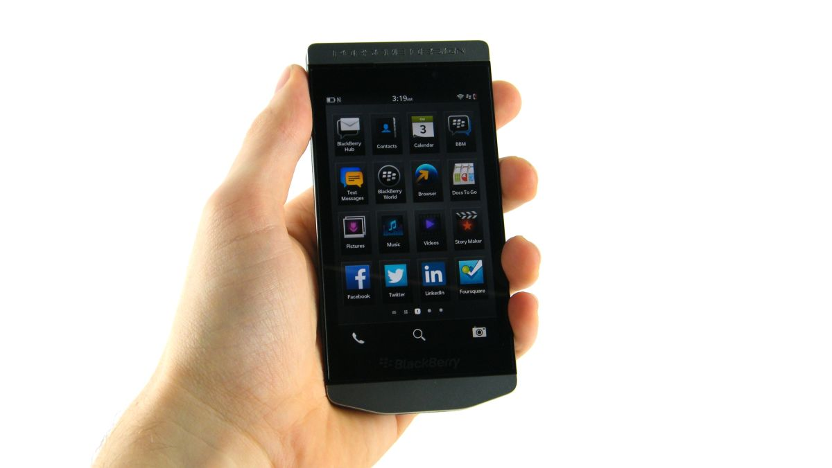 Blackberry Porsche Design P 9982 Hands On Review Techradar