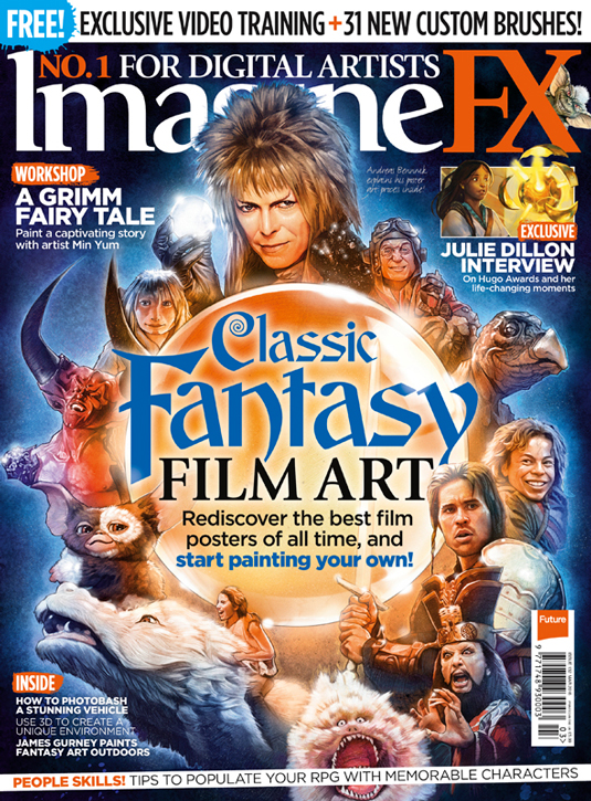 Classic Fantasy Art issue 132 (March) Imagine FX