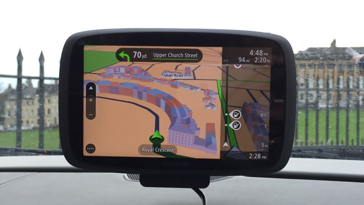 TomTom Go  Review TechRadar - Tomtom gps usa map download free