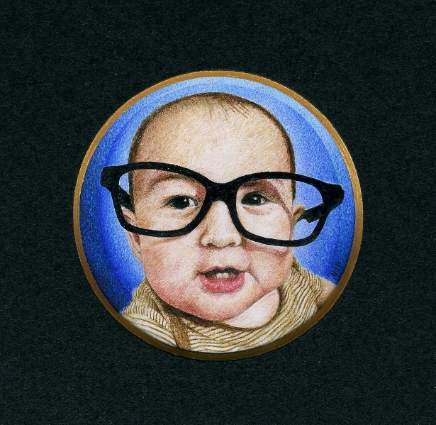 Victoria Petchey - Miniature portrait