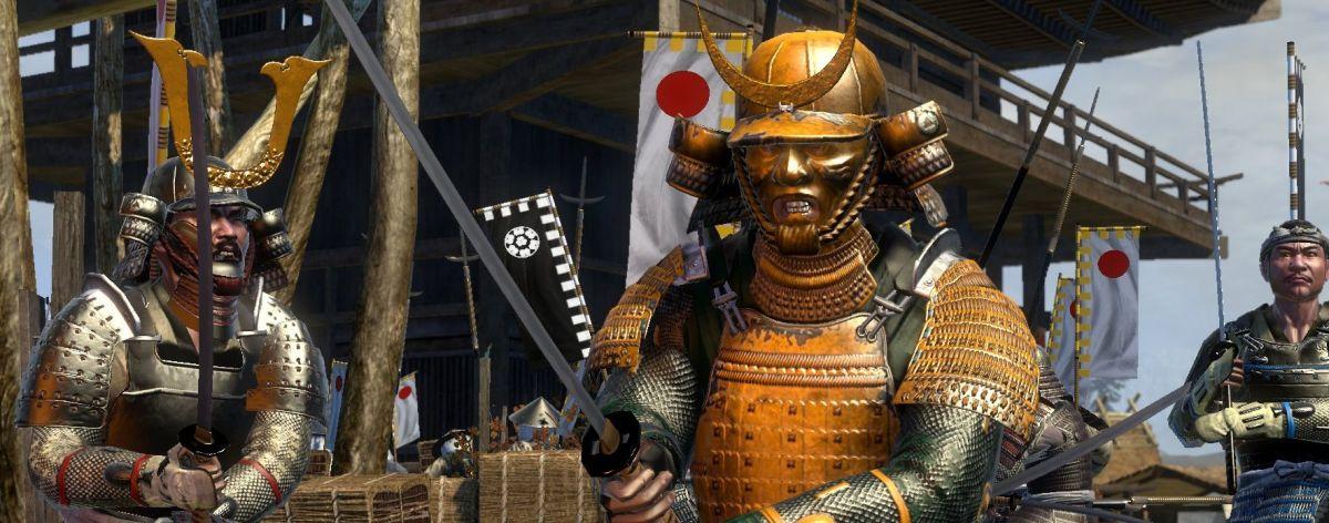 Total War Shogun 2 Screens Show Golden Samurai And Naval