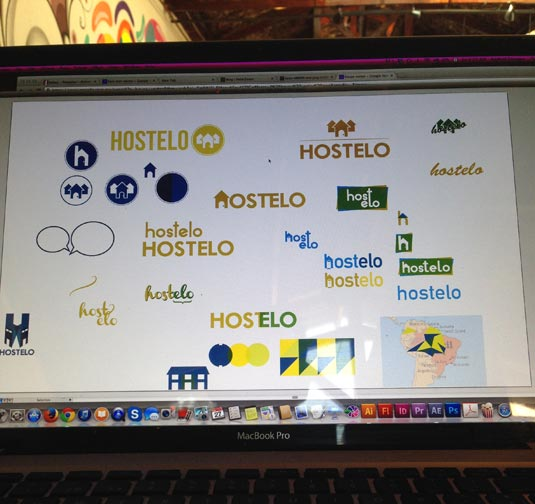 Hostelo logos