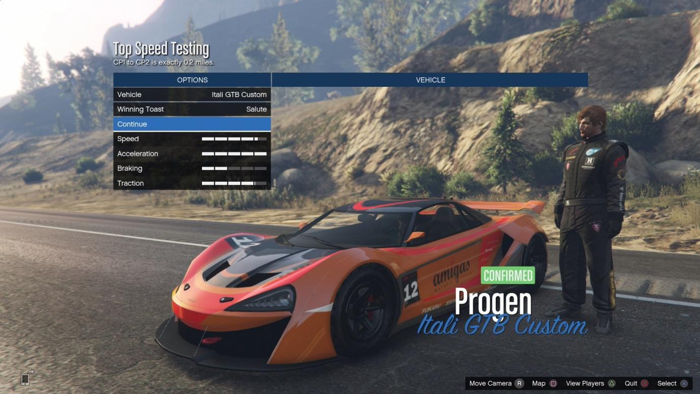Fastest Accelerating Car Gta