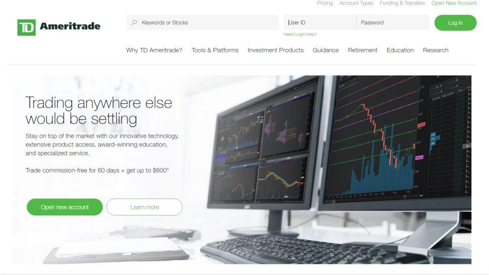 TD Ameritrade - One of America's biggest trading platforms