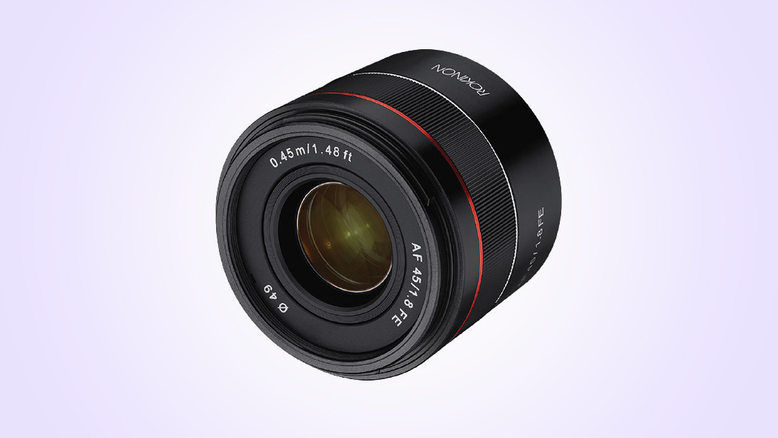Rokinon AF 45mm F1.8 FE launched