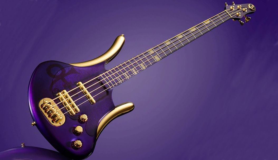 I Love Simon >> This Purple Special bass is a stunning tribute to Prince | MusicRadar