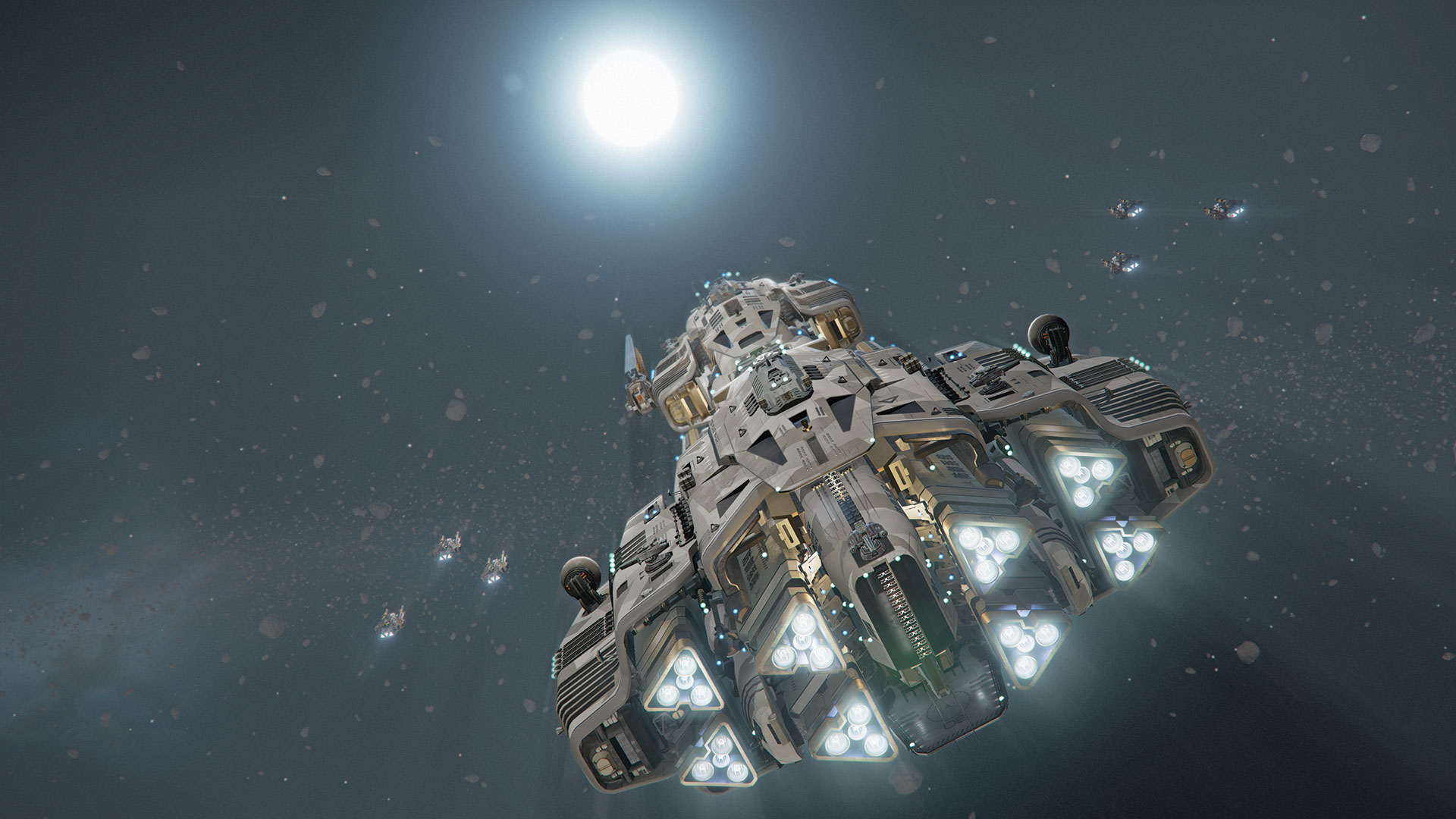 Modelling A Spaceship For Gameplay Design